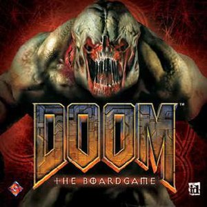 Doom: The Boardgame - Cover for Doom: The Boardgame