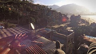 Dying Light - The free running mechanics in Dying Light allow players to travel via climbable objects such as buildings.