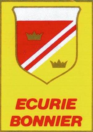 Ecurie Bonnier - Image: Ecurie Bonnier Logo