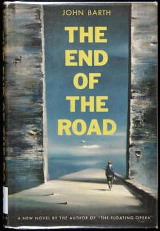 The End of the Road - First edition cover by Robert Watson