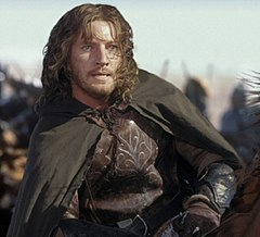 David Wenham as Faramir in Peter Jackson's Lord of the Rings movie trilogy
