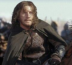 David Wenham as Faramir in Peter Jackson's Lord of the Rings movie trilogy