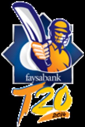 2013–14 Faysal Bank T20 Cup - Image: Faysal Bank 2014 logo