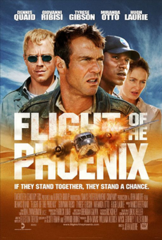 Flight of the Phoenix (2004 film) - Theatrical release poster
