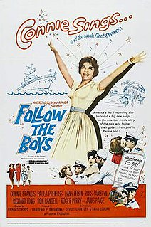 <i>Follow the Boys</i> (1963 film) 1963 film by Richard Thorpe