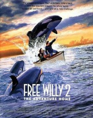 Free Willy 2: The Adventure Home - Theatrical release poster