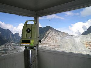 Deformation monitoring - A standard geodetic monitoring instrument in the Freeport open pit mine, Indonesia