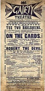 <i>Robert the Devil</i> (Gilbert) musical