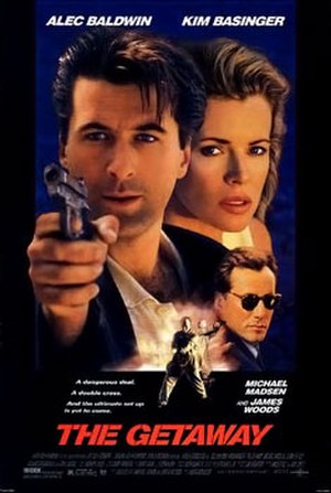 The Getaway (1994 film) - Theatrical release poster