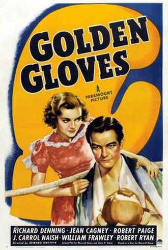 Golden Gloves (1940 film) - Film poster