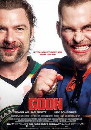 Goon (film) - Theatrical release poster