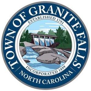 Granite Falls, North Carolina - Image: Granite Falls, North Carolina seal
