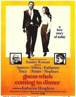 <i>Guess Whos Coming to Dinner</i> 1967 film by Stanley Kramer