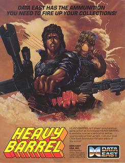 <i>Heavy Barrel</i> 1987 video game