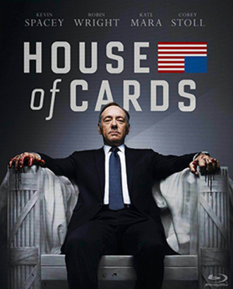 House of Cards (season 1) - Blu-ray cover