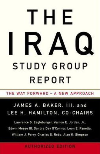 Iraq Study Group - Cover of the report
