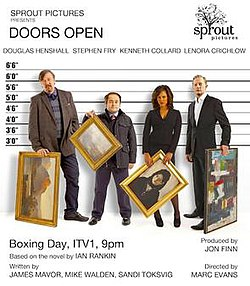 ITV promotional poster for Doors Open.jpg  sc 1 st  Wikipedia & Doors Open (film) - Wikipedia