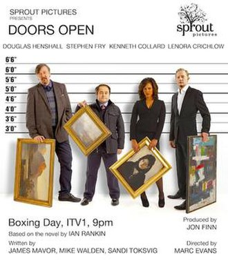 Doors Open (film) - ITV promotional poster