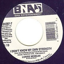 I Didn T Know My Own Strength Lorrie Morgan Song Wikipedia