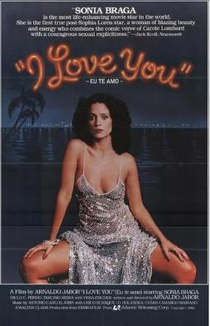 I Love You (1981 film) - Film poster