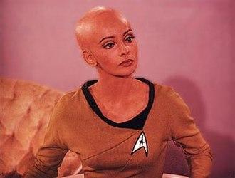 Star Trek: Phase II - Phase II screen-test photo of Persis Khambatta as Ilia