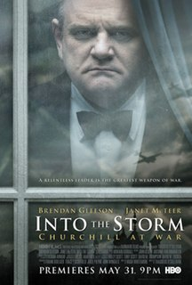 <i>Into the Storm</i> (2009 film) 2009 TV-biopic about Churchill directed by Thaddeus OSullivan