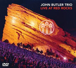 <i>Live at Red Rocks</i> (The John Butler Trio album) 2011 live album by The John Butler Trio
