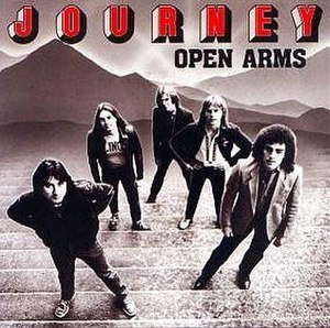 Open Arms (Journey song) - Image: Journey Open Arms single cover