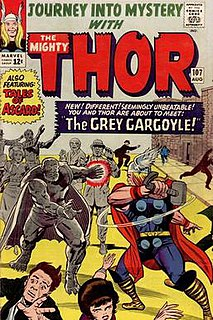Grey Gargoyle Fictional comic book character