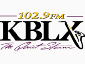"KBLX-FM - KBLX logo from the ""Quiet Storm"" era"
