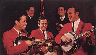 Kentucky Colonels (band) - The Kentucky Colonels in 1964 From left to right: Roland White, Roger Bush, Clarence White, Bobby Slone, and Billy Ray Latham