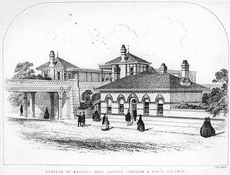West Dulwich - Old Knights Hill railway station