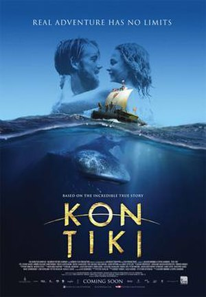 Kon-Tiki (2012 film) - Theatrical release poster