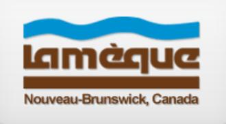 Lamèque - Image: Lameque NB logo