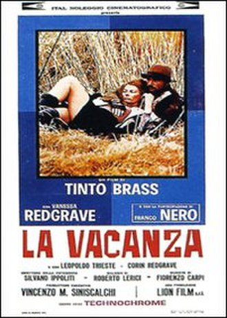 La vacanza - Promotional poster