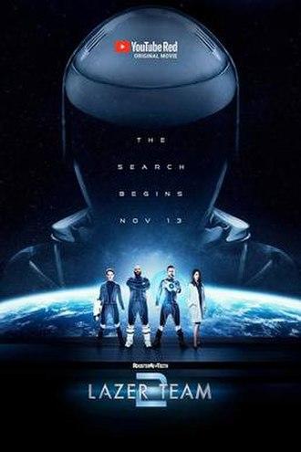 Lazer Team 2 - Film poster