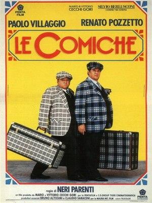 Le comiche - Image: Le comiche poster
