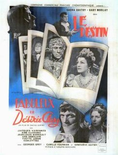 <i>Le Destin fabuleux de Désirée Clary</i> 1942 French film directed by Sacha Guitry
