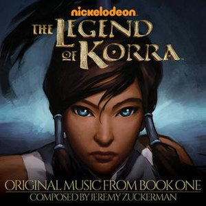 The Legend of Korra (season 1) - Image: Legend of Korra Original Music from Book One album cover
