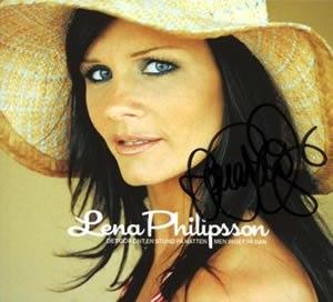Det gör ont en stund på natten men inget på dan - Image: Lena Philipsson album
