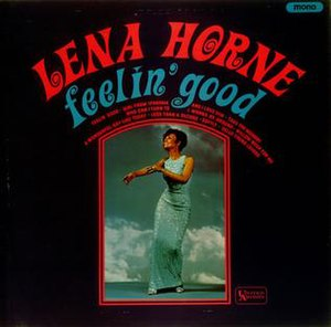 Feelin' Good (Lena Horne album) - Image: Lenagood