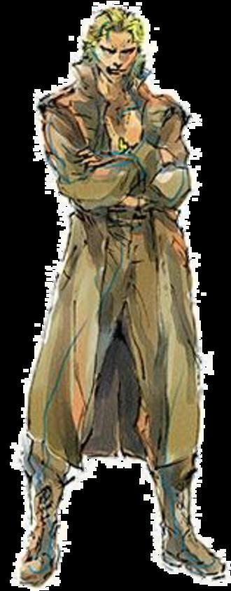 Liquid Snake - Liquid Snake as seen in Metal Gear Solid, illustrated by Yoji Shinkawa