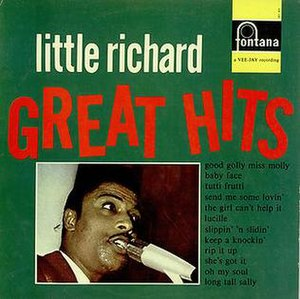 Little Richard's Greatest Hits - Image: Little Richard's Greatest Hits 1965