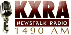 KXRA (AM) - Image: Logo kxraam 200