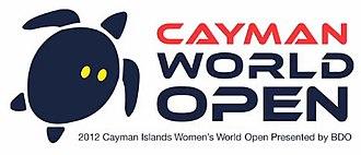 2012 Women's World Open Squash Championship - Image: Logo of 2012 WSA Cayman World Open