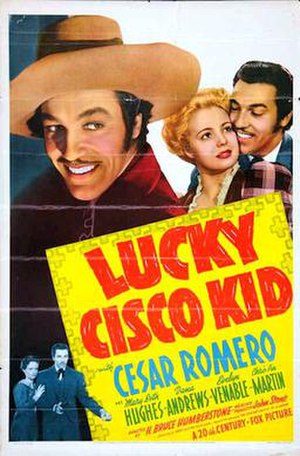 Lucky Cisco Kid - 1940 US Theatrical poster