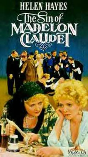 The Sin of Madelon Claudet - Videotape cover
