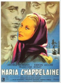 <i>The Naked Heart</i> 1950 French-British film directed by Marc Allégret