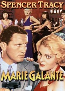 <i>Marie Galante</i> (film) 1934 film directed by Henry King