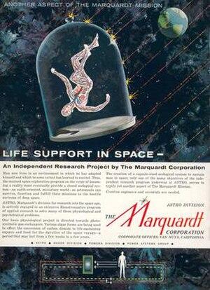 Marquardt Corporation - Vintage Marquardt Corporation ad.